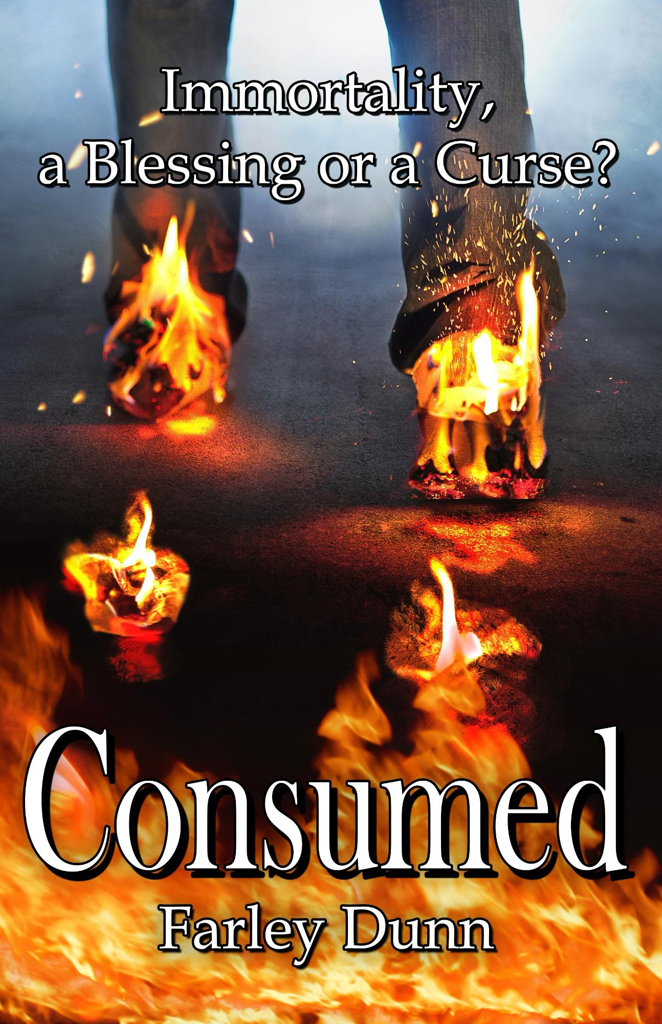Consumed Cover for Kindle